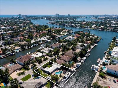 Fort Lauderdale Single Family Home For Sale: 409 Isle Of Capri Dr