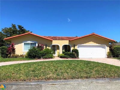 Coral Springs Single Family Home For Sale: 9095 NW 24 Ct
