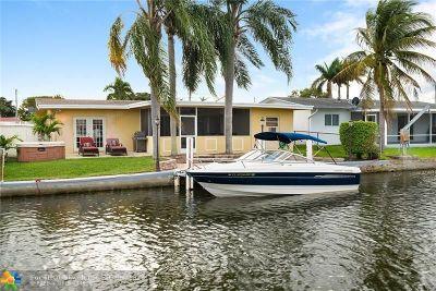 Dania Beach Single Family Home For Sale: 826 Argonaut Isle