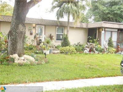 Tamarac Single Family Home For Sale: 7804 NW 74th Ave