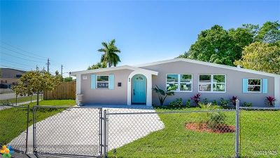 Delray Beach Single Family Home Backup Contract-Call LA: 1402 SW 3rd St