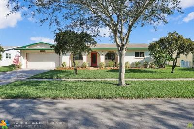 Coconut Creek Single Family Home For Sale: 4121 NW 10th St