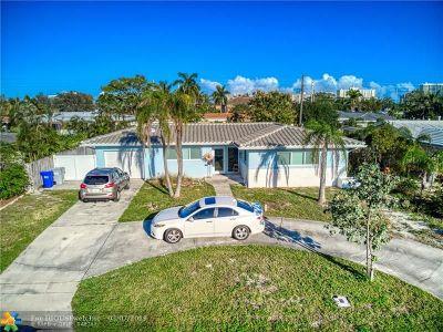 Pompano Beach Single Family Home For Sale: 604 NE 25th Ave