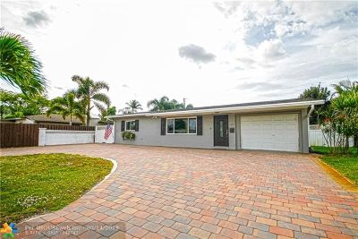 Oakland Park Single Family Home For Sale: 540 NW 38th St