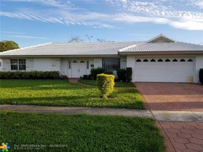 Plantation Single Family Home For Sale: 4860 NW 7th St