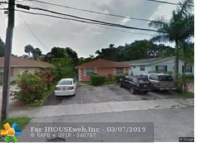 Fort Lauderdale Multi Family Home For Sale: 2320 SW 18th Ter