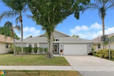 Sunrise Single Family Home For Sale: 3121 NW 109th Ave