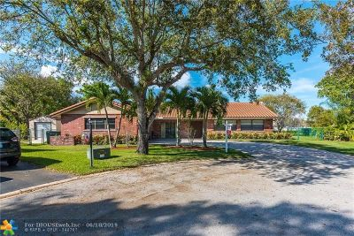 Coral Springs Single Family Home For Sale: 10453 NW 21st Mnr