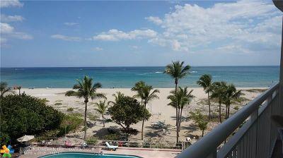 Pompano Beach Condo/Townhouse For Sale: 710 N Ocean Blvd #404