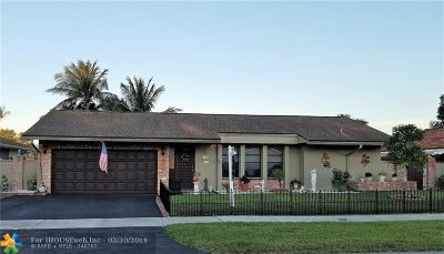 Oakland Park Single Family Home For Sale: 4148 NW 19th Ter