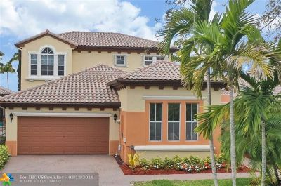Parkland Single Family Home For Sale: 6659 NW 128th Way
