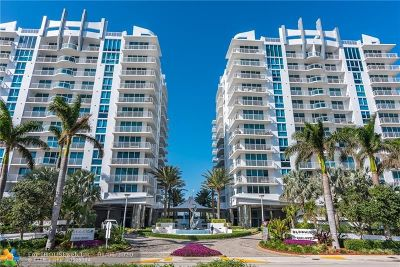 Condo/Townhouse For Sale: 2831 N Ocean Blvd #305N