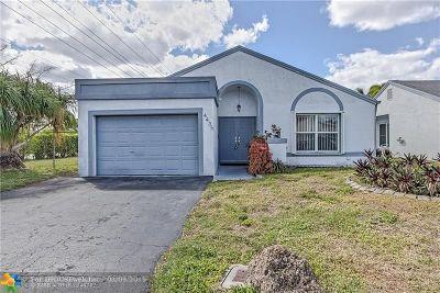 Sunrise Single Family Home Backup Contract-Call LA: 4435 NW 97th Ter