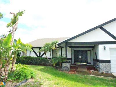 Lauderhill Single Family Home Backup Contract-Call LA: 7300 NW 45th St