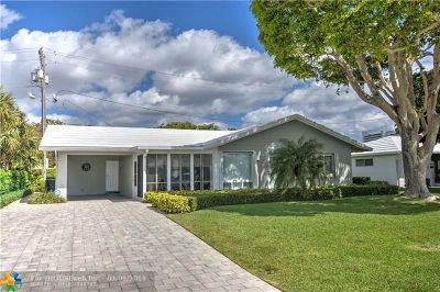 Fort Lauderdale Single Family Home For Sale: 2513 SE 21 St