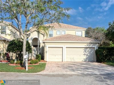 Coral Springs Single Family Home For Sale: 5241 NW 113th Ave