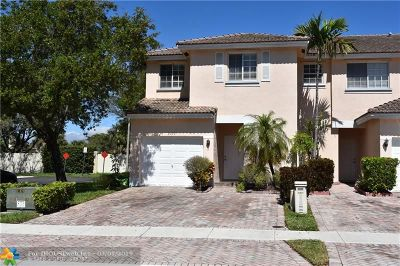 Sunrise Condo/Townhouse For Sale: 9199 NW 40th Place #9199