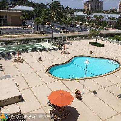 Pompano Beach Condo/Townhouse For Sale: 201 N Ocean Blvd #404