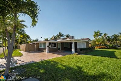 Fort Lauderdale Single Family Home For Sale: 1601 NE 17th Ave