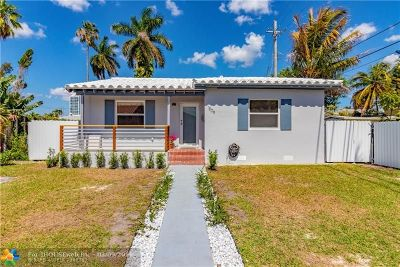 Miami Single Family Home For Sale: 1809 NW 8th St