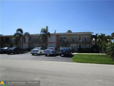 Fort Lauderdale Condo/Townhouse For Sale: 2124 NE 56th Ct #107