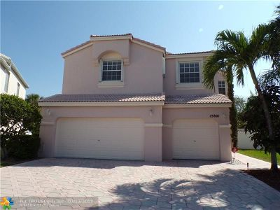 Pembroke Pines Single Family Home Backup Contract-Call LA: 15801 NW 14th Rd