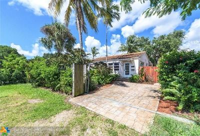 Fort Lauderdale Single Family Home For Sale: 545 NE 8 Av