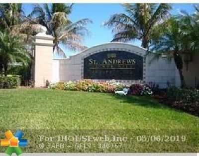 Tamarac Condo/Townhouse For Sale: 8070 N Nob Hill #203