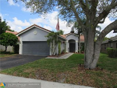 Davie Single Family Home For Sale: 12525 SW 7th Pl
