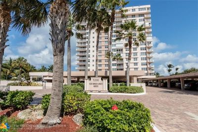 Lauderdale By The Sea Condo/Townhouse For Sale: 5200 N Ocean Blvd #912B