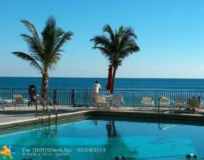 Fort Lauderdale Condo/Townhouse For Sale: 3800 Galt Ocean Dr #207