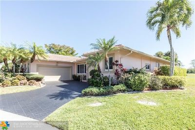 Tamarac Single Family Home For Sale: 4608 Queen Palm Ln