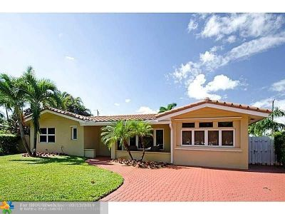 Fort Lauderdale Single Family Home For Sale: 5261 NE 20th Ave