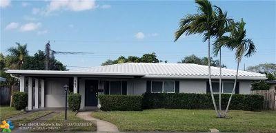Pompano Beach Single Family Home For Sale: 661 NE 8th St