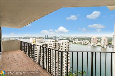 Aventura Condo/Townhouse For Sale: 18181 NE 31st Ct #2609