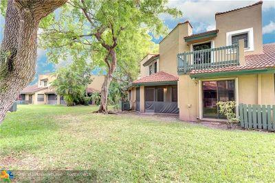 Plantation Condo/Townhouse For Sale: 9213 W Sunrise Blvd #232-B