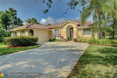 Coral Springs Single Family Home For Sale: 1546 NW 103rd Ter