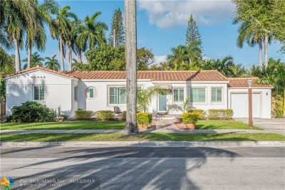 Hollywood Single Family Home For Sale: 218 S 12th Ave