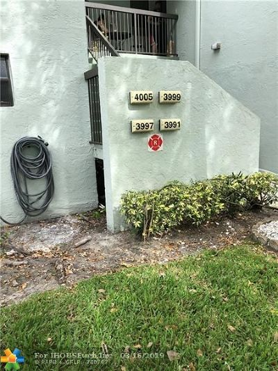 Coconut Creek Condo/Townhouse For Sale: 3999 Carambola Circle N #29101