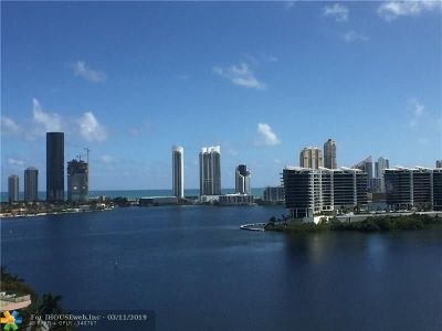 Aventura Condo/Townhouse For Sale: 3330 NE 190th St #1411