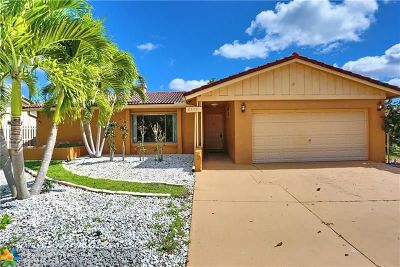 Coral Springs Single Family Home For Sale: 2501 NW 98th Way