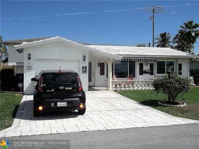 Pompano Beach Single Family Home For Sale: 3140 NW 1st Ave