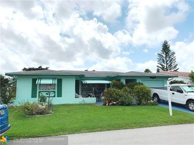 Tamarac Single Family Home For Sale: 4918 NW 52nd St