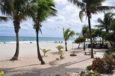 Pompano Beach Condo/Townhouse For Sale: 1010 S Ocean Blvd #611
