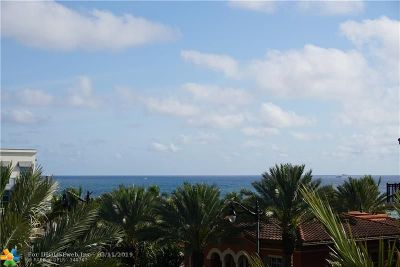 Lauderdale By The Sea Condo/Townhouse For Sale: 4445 El Mar Dr #PH2414