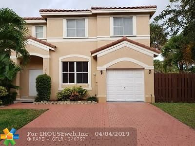 Miramar Single Family Home For Sale: 3826 SW 170th Ave