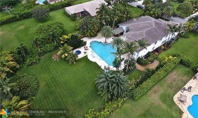 Davie Single Family Home For Sale: 3712 Churchill Downs Dr