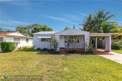 Hollywood Single Family Home For Sale: 2710 Madison St