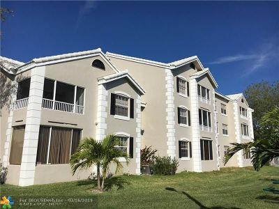 Oakland Park Condo/Townhouse For Sale: 2880 N Oakland Forest Dr #312