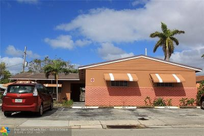 Fort Lauderdale Multi Family Home For Sale: 5881 NE 18th Ave